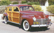 1941 Chrysler Windsor Town & Country Station Wagon f3q