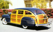 1942 Chrysler Windsor Town & Country Woody Station Wagon r3q
