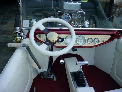 1923 Ford T-bucket (mod) Interior