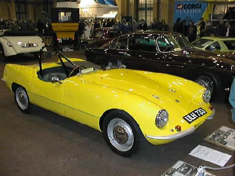 Elva Courier (yellow bodywork)