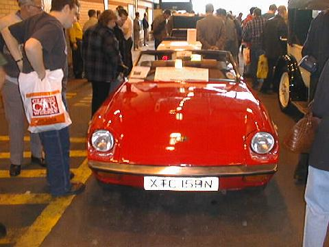 Jensen Healey (front view)