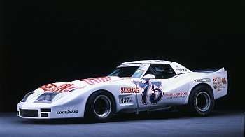 1974-1975 Greenwood Chevrolet Corvette IMSA Road-Racing GT