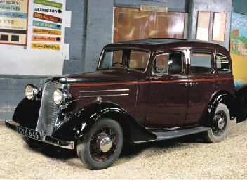 1936 VAUXHALL MODEL DX 'LIGHT SIX' FOUR DOOR SALOON