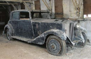 1933 ROLLS-ROYCE 20/25HP FOUR DOOR SALOON