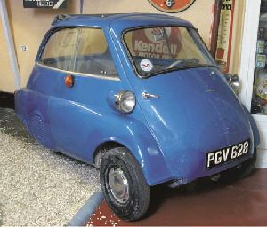 1960 BMW ISETTA THREE WHEELER