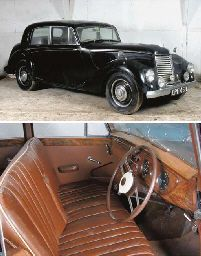 1952 ARMSTRONG-SIDDELEY WHITLEY FOUR DOOR SALOON