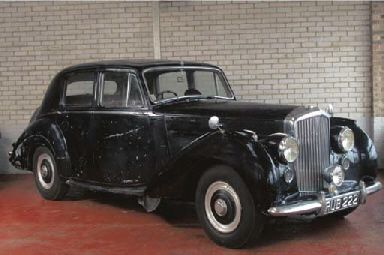 1953 BENTLEY R-TYPE STANDARD STEEL SALOON