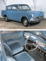 1964 FORD ANGLIA 105E DELUXE TWO DOOR SALOON