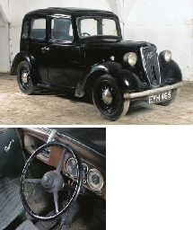 1938 AUSTIN BIG SEVEN FOUR DOOR SALOON