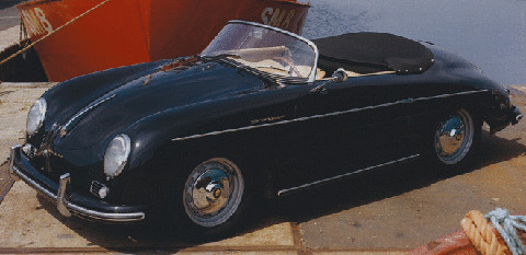 1956 Porsche 356 Speedster 1600 Super