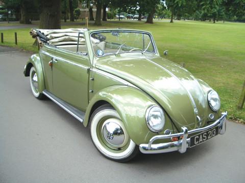1957 Volkswagen Beetle 1.3 litre Karmann Cabriolet - Picture Gallery - Motorbase
