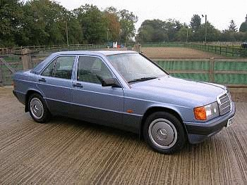 1990 Mercedes-Benz 190E Saloon