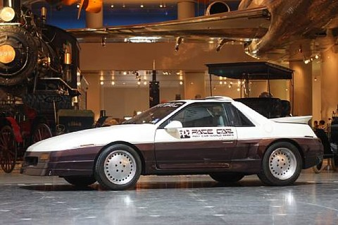 <i>In the Museum&#39;s collection since 1989, donated to the Museum by General Motors</i><BR><B>1986 Pontiac Fiero GT Pace Car Prototype</b><BR>Chassis no. 1G2AF37R6EP220268