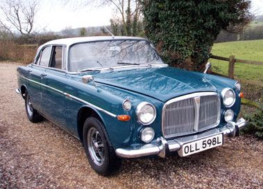 1972 ROVER 3.5 LITRE COUPE