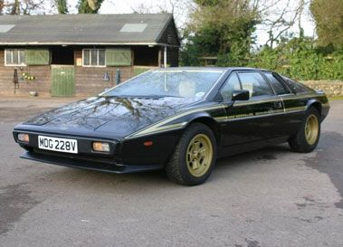 1978 LOTUS ESPRIT JPS COMMEMORATIVE