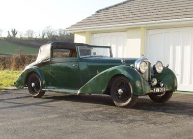 1934 BENTLEY 3.5 LITRE THREE POSITION DROPHEAD COUPE
