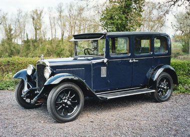 1931 AUSTIN 12/4 HEAVY BURNHAM SALOON
