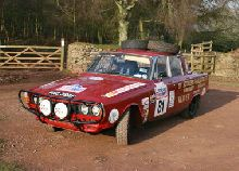 1968 ROVER 2000 TC HISTORIC RALLY CAR