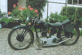 c.1930 Rudge 349cc Racing Motorcycle
