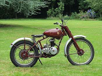 c.1953 James 197cc Commando Trials
