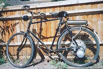 1954 Vindec 35cc BSA Winged Wheel