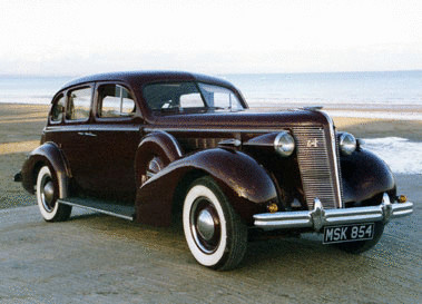 1937 McLAUGHLIN-BUICK SERIES 40 SPECIAL SALOON