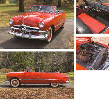 1950 FORD CUSTOM DELUXE CONVERTIBLE