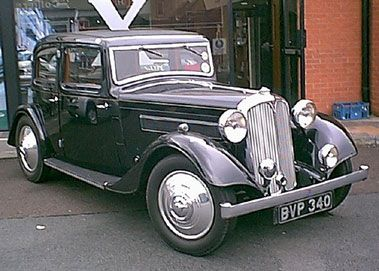 1936 rover 12 sports saloon   picture gallery   motorbase