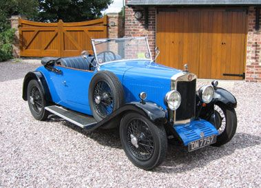 1930 LEA FRANCIS 'P' TYPE TWO SEATER WITH DICKEY