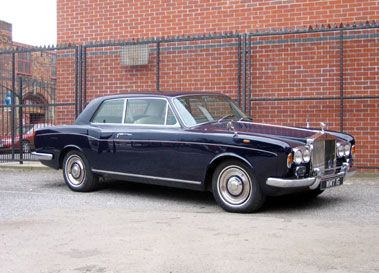 1969 ROLLS-ROYCE SILVER SHADOW MULLINER PARK WARD COUPE