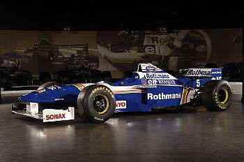 1996 Williams-Renault FW18 Formula 1 Racing Single-Seater