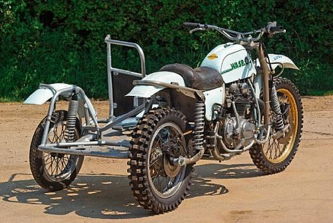 c 1974 Wasp-Yamaha 1000cc Sidecar Motocross - Picture