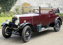 1927 ALVIS 14/75 DROPHEAD COUPE