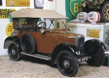 1923 ROVER 8HP 'CHUMMY' OCCASIONAL FOUR SEATER