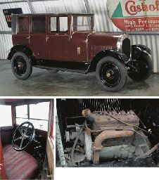 1926 CHENARD-WALCKER SIX LIGHT SALOON