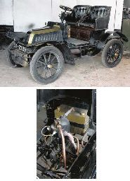 1905 DE DION BOUTON 6HP TYPE Y TWO SEATER