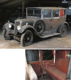 c.1928 PANHARD-LEVASSOR X39 FOUR DOOR SALOON