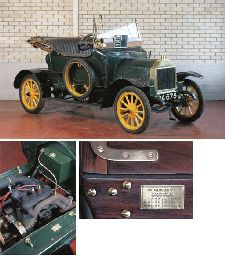 1910 BRITON 10HP TWO SEATER