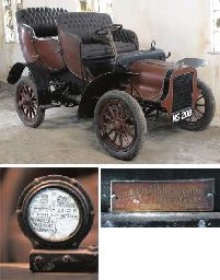 1906 CADILLAC 10HP MODEL M LIGHT TOURING CAR