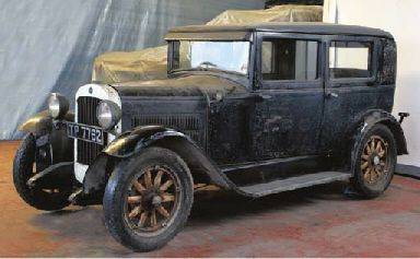 1929 ESSEX SIX FOUR DOOR SALOON