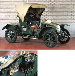 1909 RENAULT 8HP TYPE AX TWO SEATER