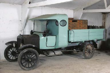 c.1925 FORD MODEL TT PICK-UP TRUCK