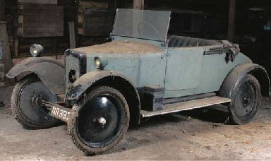 1924 ROVER 8 TWO SEATER WITH DICKEY