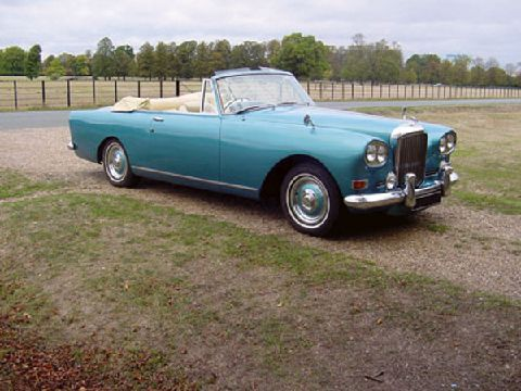 1965 Bentley SIII Park Ward Continental Drophead Coupe