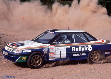 1992 Subaru Legacy Rs Group A Rally Car Picture Gallery Motorbase