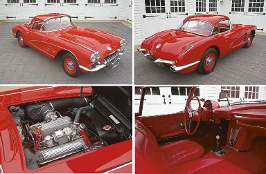 1959 CHEVROLET CORVETTE FUEL INJECTED ROADSTER WITH HARDTOP