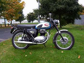1964 BSA 500cc A50 Star