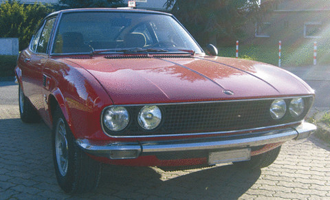 1969 Fiat Dino Coupe