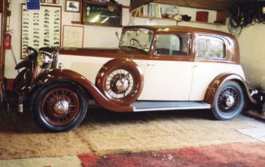 1936 ARMSTRONG-SIDDELEY 20 SPORTS SALOON