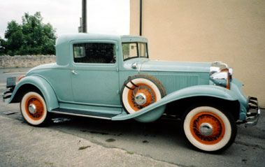 1931 CHRYSLER CD STRAIGHT EIGHT COUPE